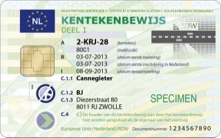 Kentekenbewijs van auto overschrijven na overlijnen