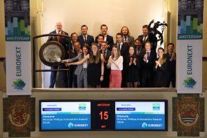 Closure opent de handelsdag van de AEX
